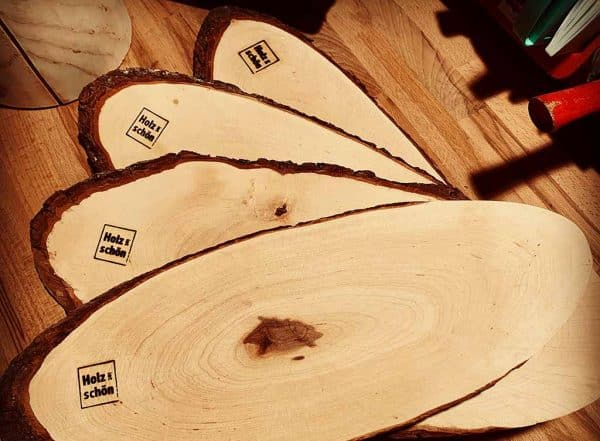 Brotzeitbrettl Holz ist schön