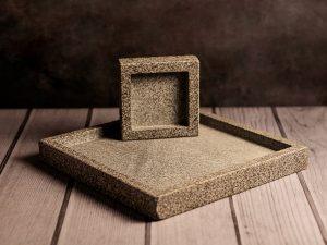 Granit Standfuß in zwei Größen