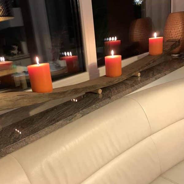 Kerzenleuchter Fassdaube XXL