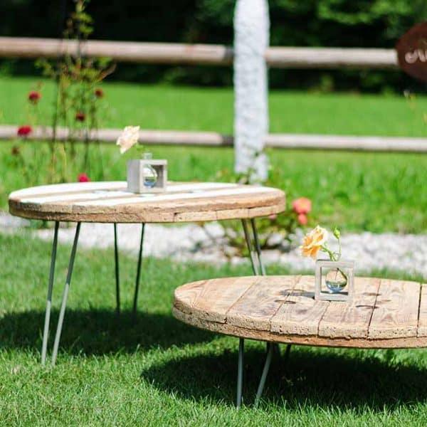 Tisch Kabelrolle Duo