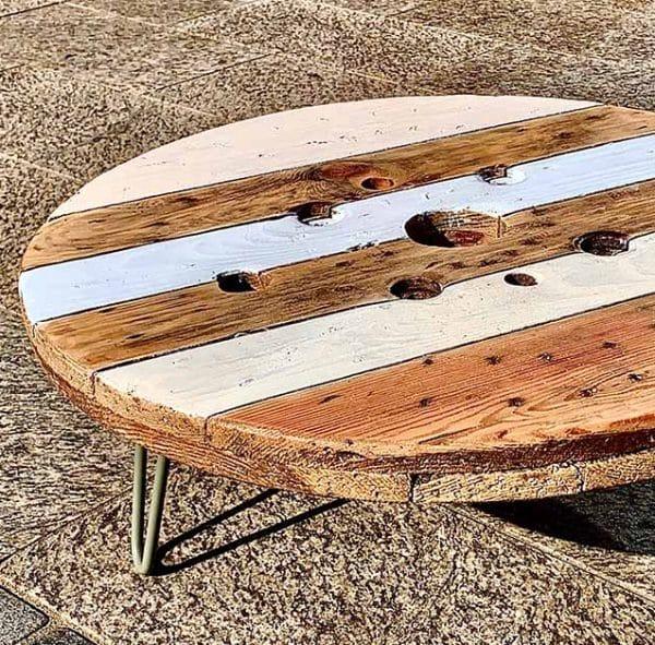 Tisch Kabelrolle Lounge