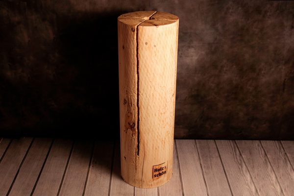 Schwedenfeuer von Holz ist Schön rund, 90 cm