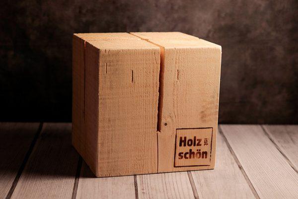 Schwedenfeuer von Holz ist Schön quadratisch, 30 cm