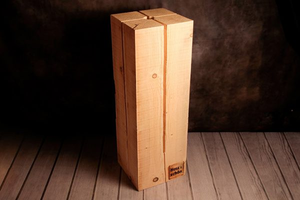Schwedenfeuer von Holz ist Schön quadratisch, 90 cm