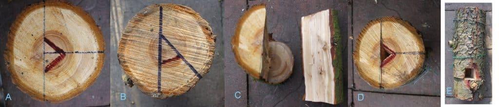 Beschreibung Herstellung Baumfackel