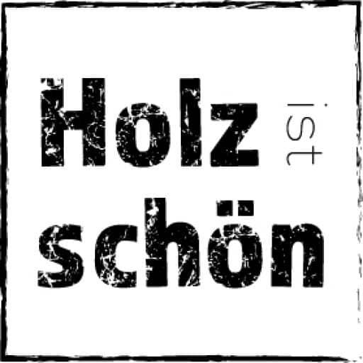 Holz ist Schön - Logo quadrat