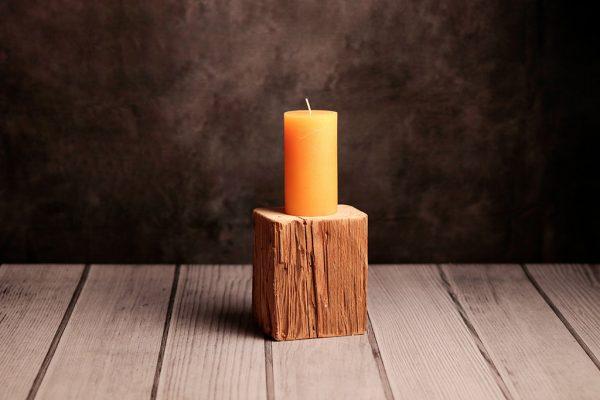 Kerzenständer aus Tanne