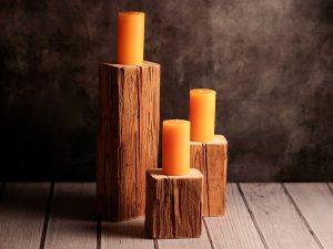 Kerzenständer in drei Größen